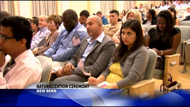 Tryon Palace hosts naturalization ceremony for 46 (Image 1)_13113