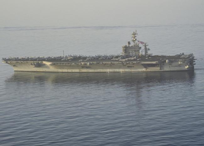 USS Dwight D. Eisenhower (CVN 69) Deployment_271204