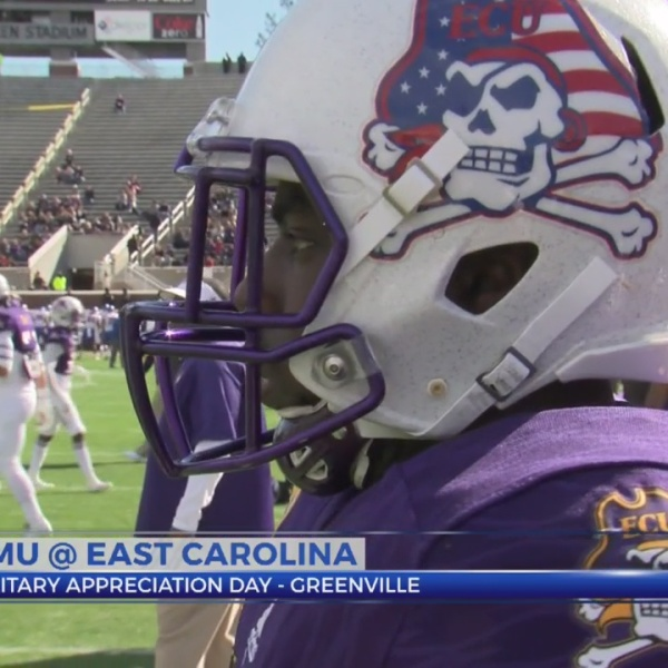 Pirate Gameday: SMU 55, ECU 31- FINAL