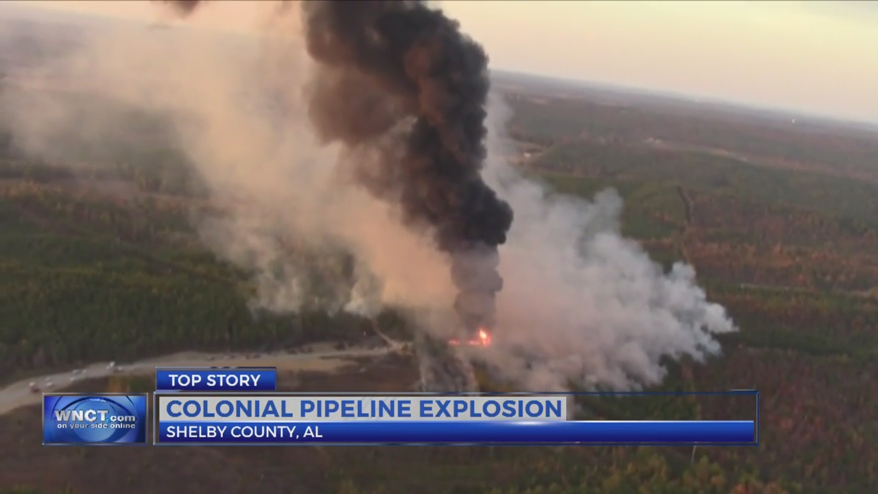 Pipeline explosion likely to eventually impact eastern N.C.