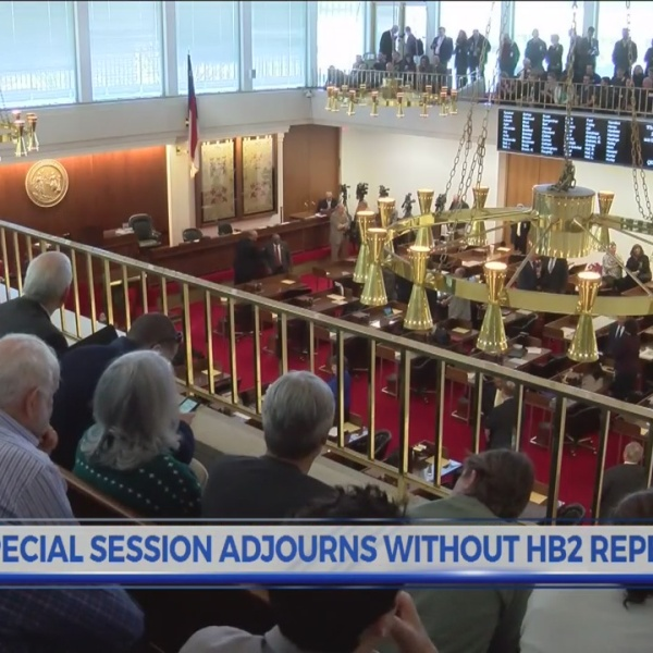 Special session adjourns without HB2 repeal