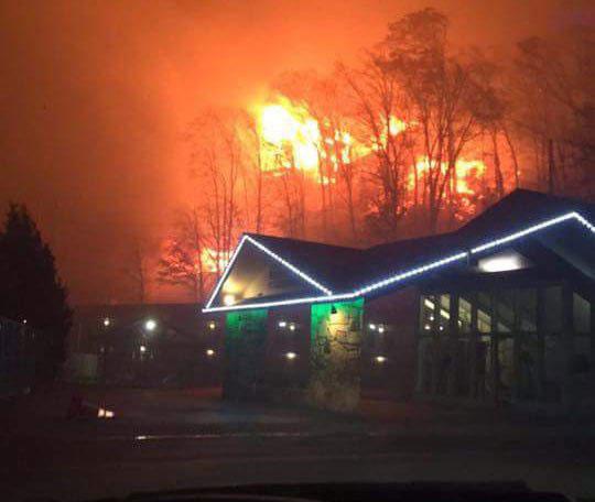 Gatlinburg wildfires_309785