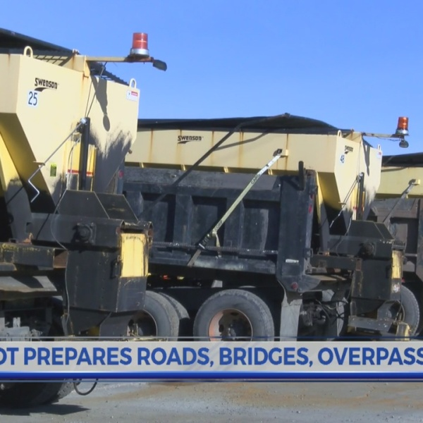 Greenville Crews Braces for winter weather impact