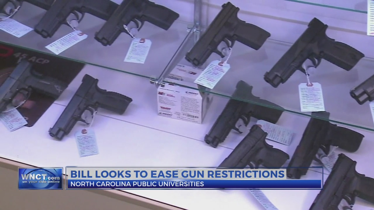 New bill could ease gun restrictions on college campuses
