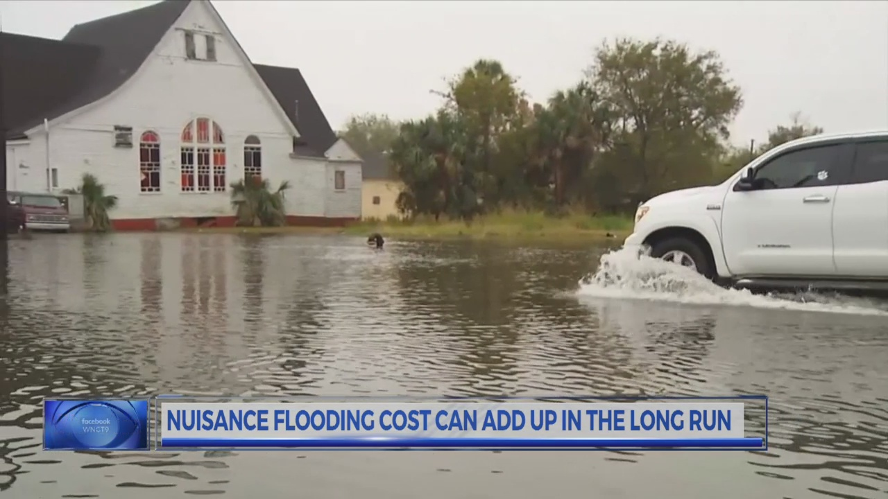 Study: Nuisance flooding could be more costly than once thought