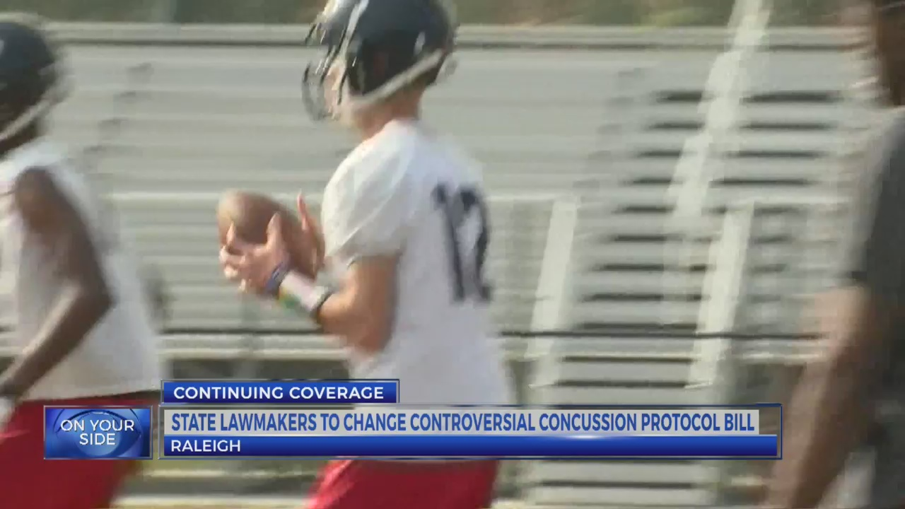 NC lawmakers to change controversial concussion protocol bill