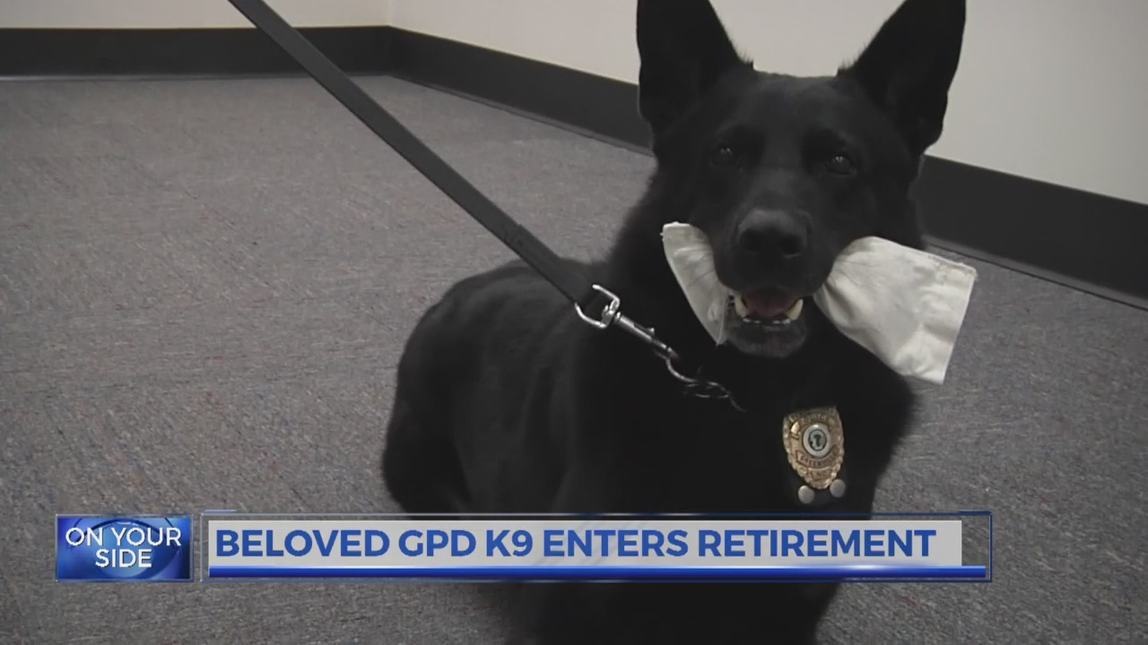 Beloved Greenville Police K9 retires