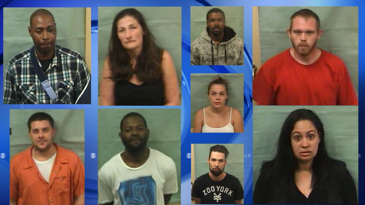 Pamlico County Sheriff S Office Arrests 20 On Drug Charges