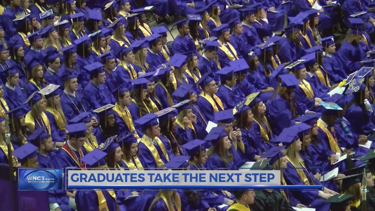 As graduation nears, ECU helps students land first job