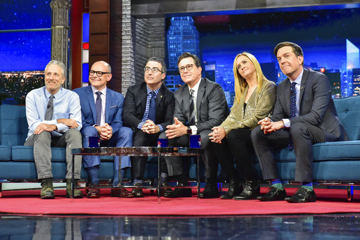 Jon Stewart, Stephen Colbert, Samantha Bee, Ed Helms, John Oliver, Rob Corddry_401269