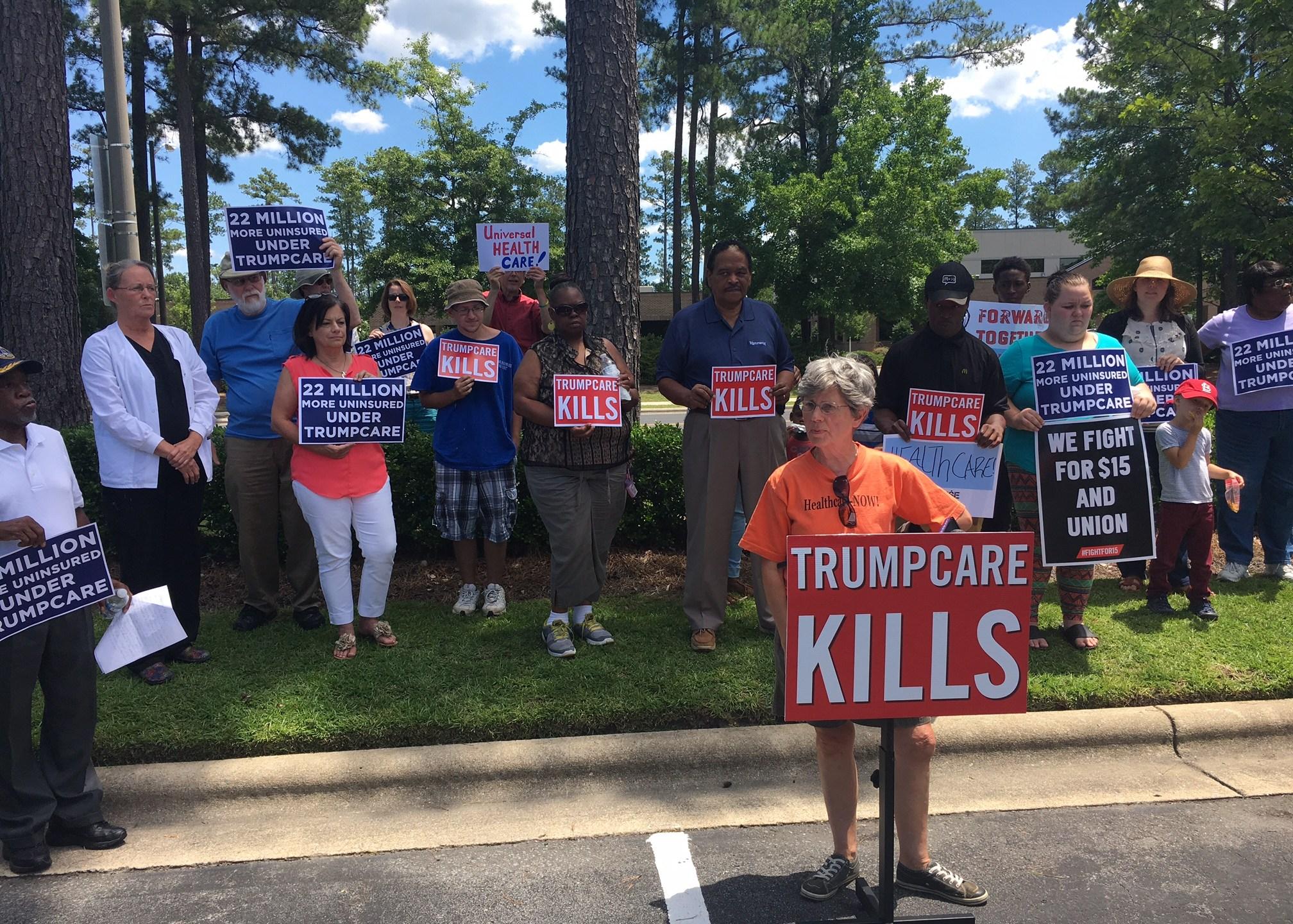 trumpcare protest_429175