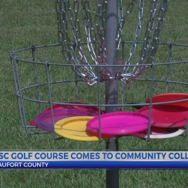 Disc golf course comes to community college