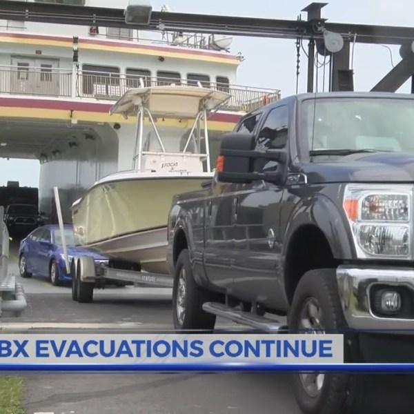 Mandatory OBX evacuations continue, citations written for violators