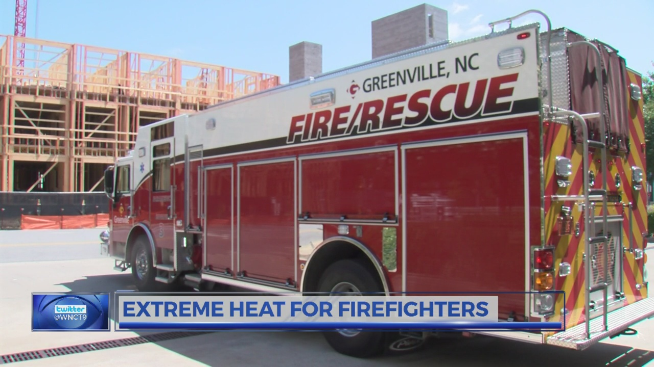 Extreme heat for firefighters