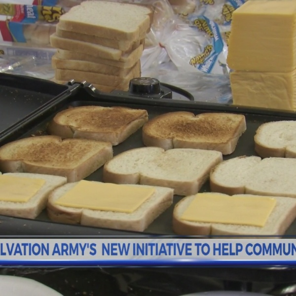 Greenville Salvation Army supplies breakfast for community