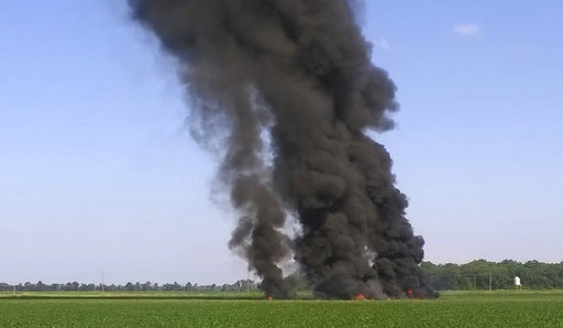 APTOPIX Military Plane Crash_435384