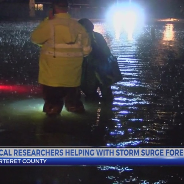 N.C. researchers help Louisiana officials with storm surge forecast