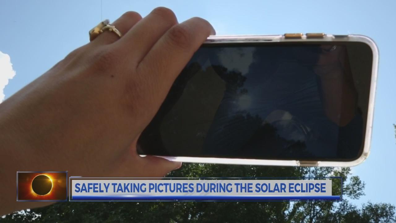 solar eclipse phone safety