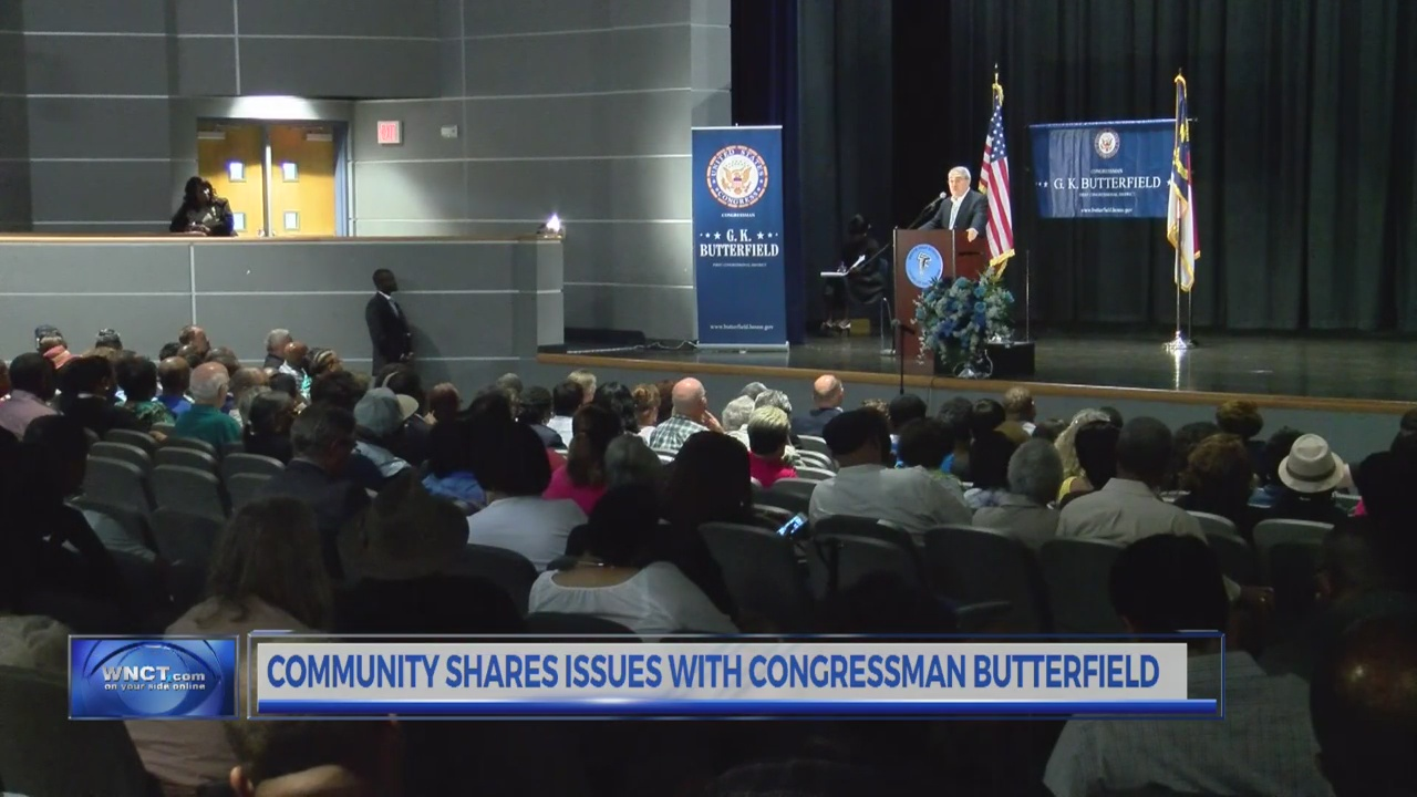 Community shares issues with Congressman Butterfield
