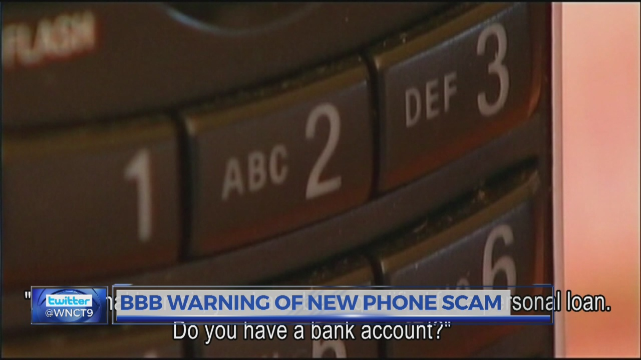 BBB warning of new phone scam