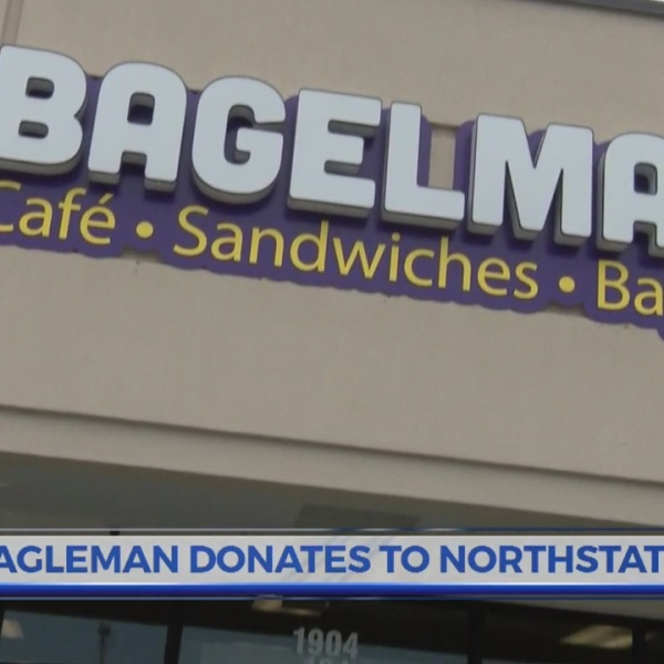 Greenville's Bagelman donates to North State Little League