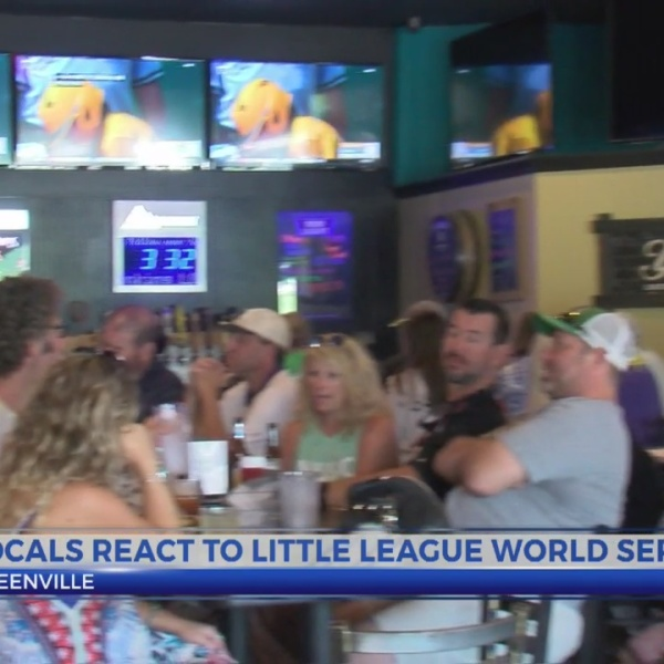 Locals react to little league world series