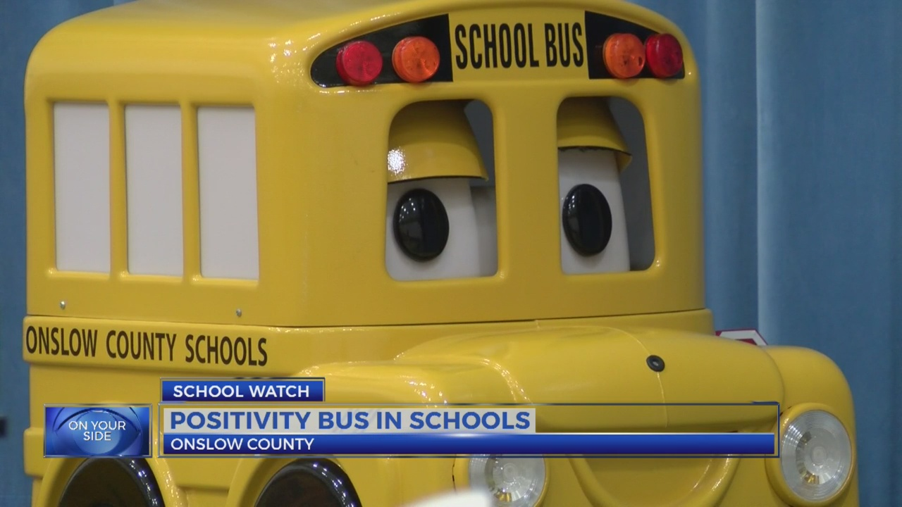 Energy Bus gets rolling for teachers in Onslow County