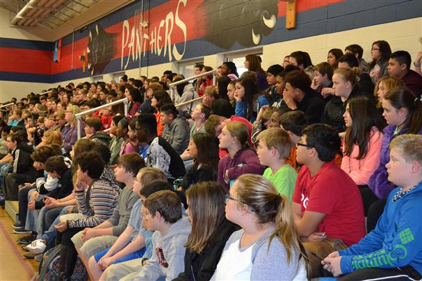 Crowd shot of BES middle school students - 1_461379