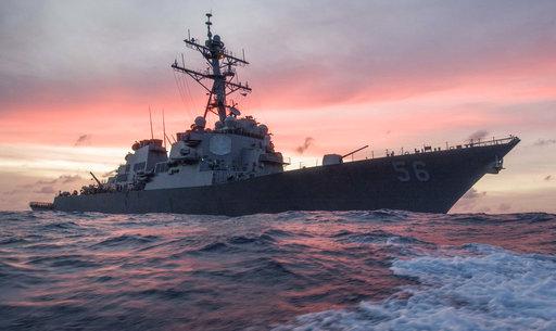 Singapore US Navy Ship Collision_457571