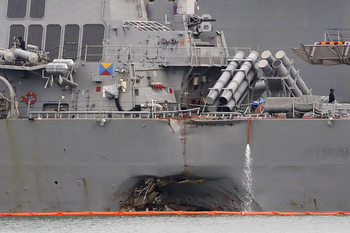 Singapore US Navy Ship Collision_461199