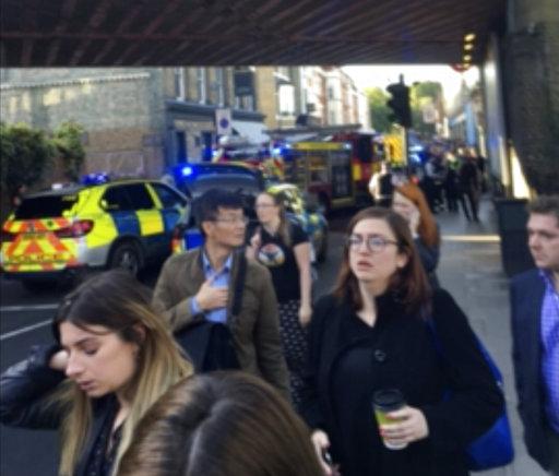 Britain Subway Incident_472090