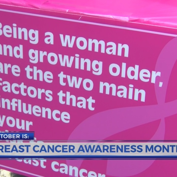 Breast Cancer Awareness Month: Early detection is key