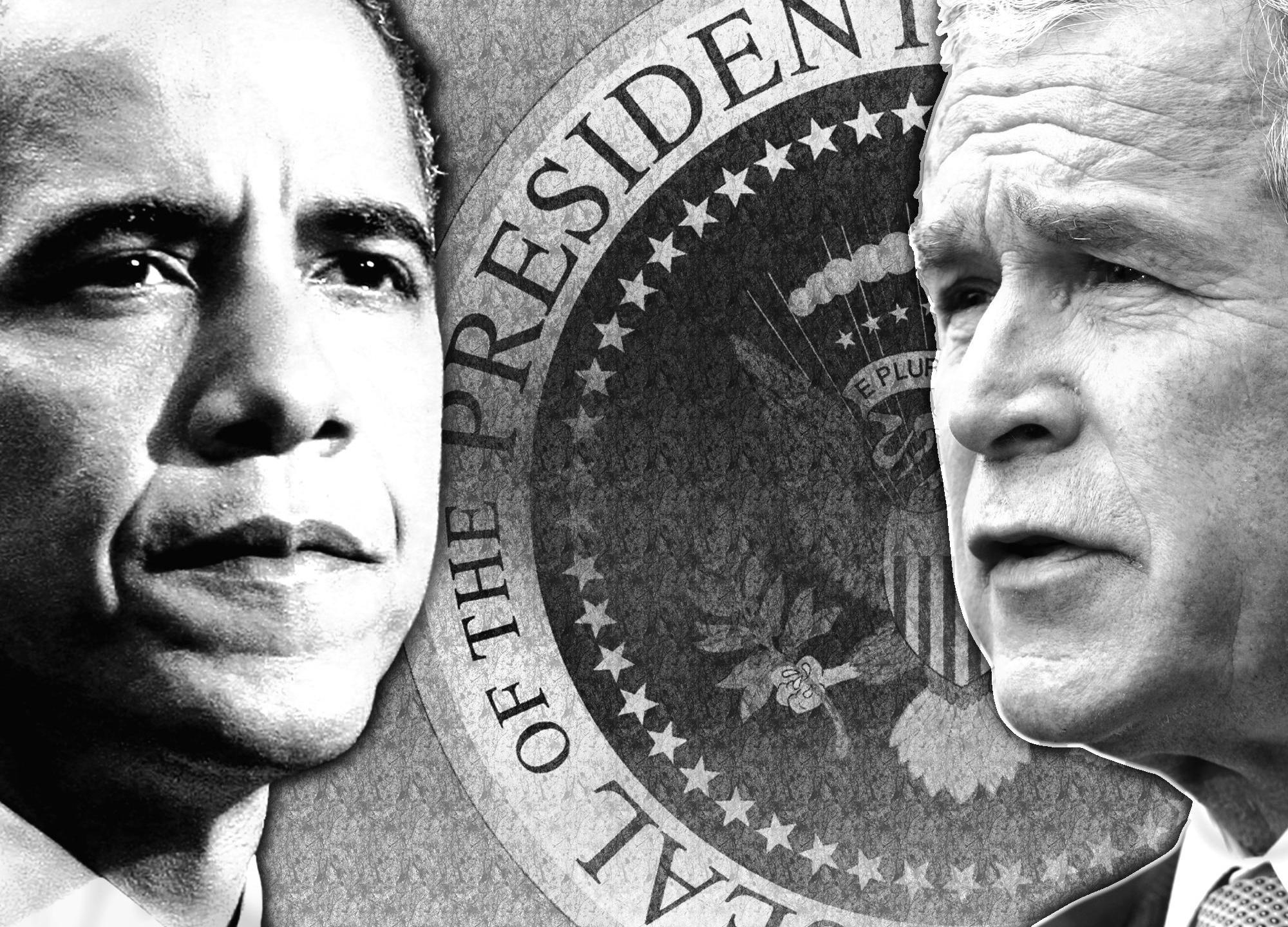 obama and bush_493098