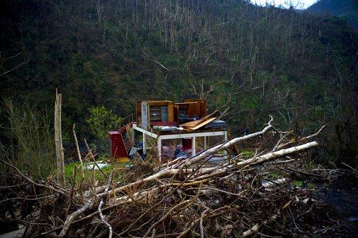 APTOPIX Puerto Rico Hurricane Maria Victims_483430