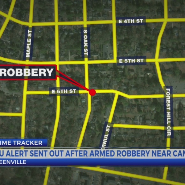 Greenville police respond to robbery at Corbitt Apartments