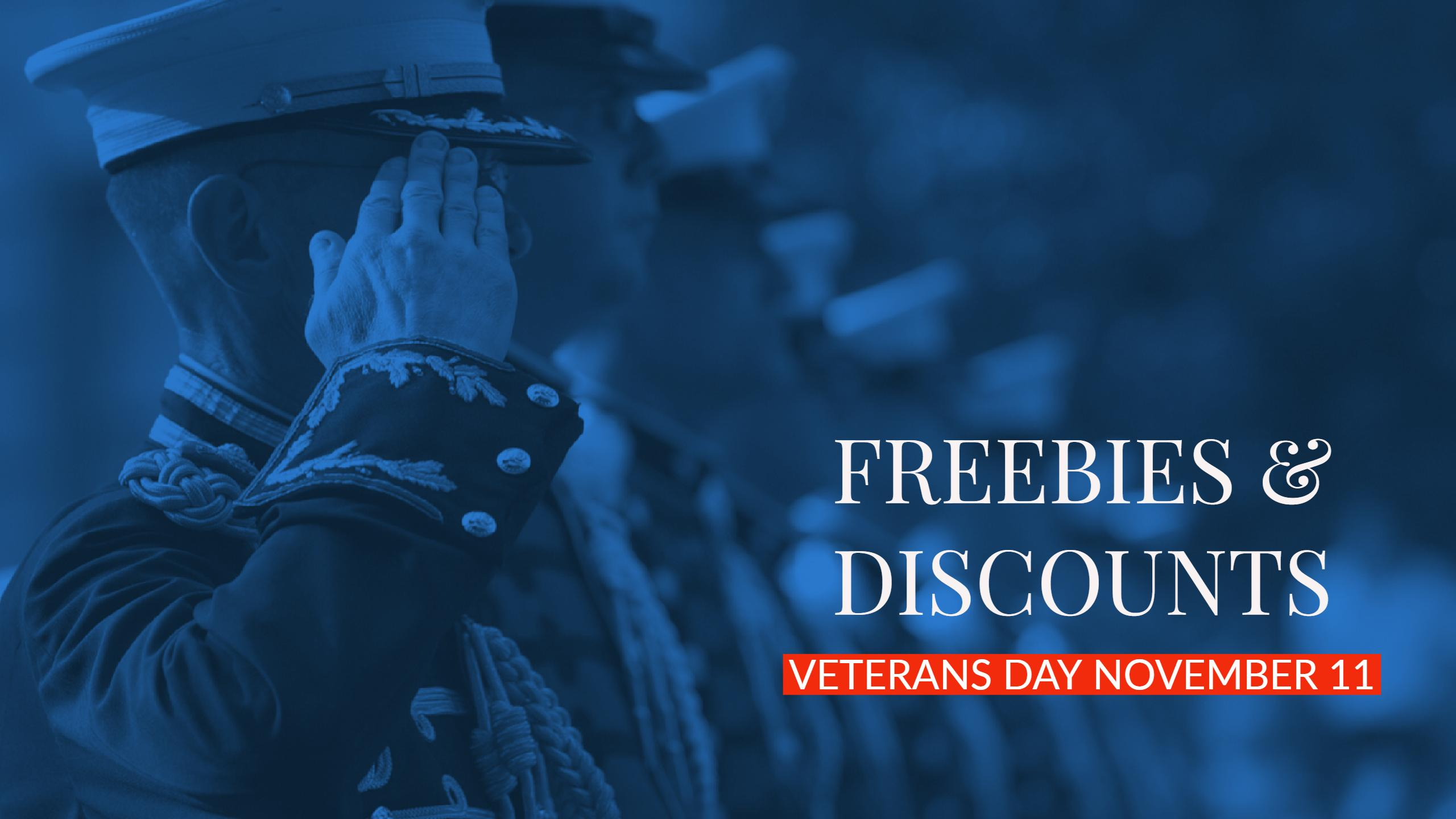 Veterans Day Discounts Freebies_505789