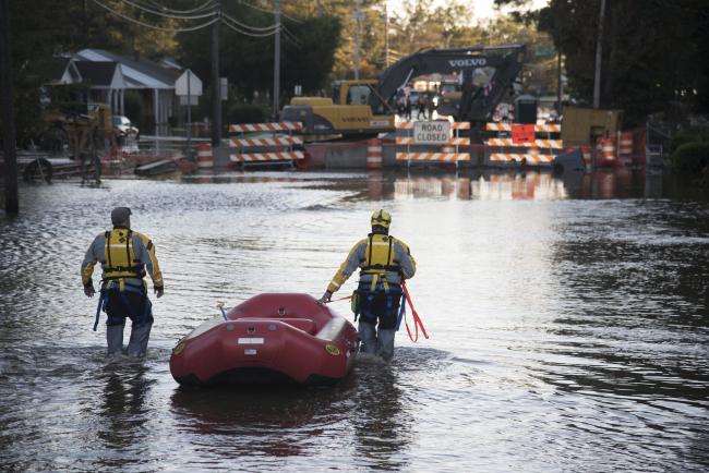 APTOPIX Hurricane Matthew North Carolina_472833