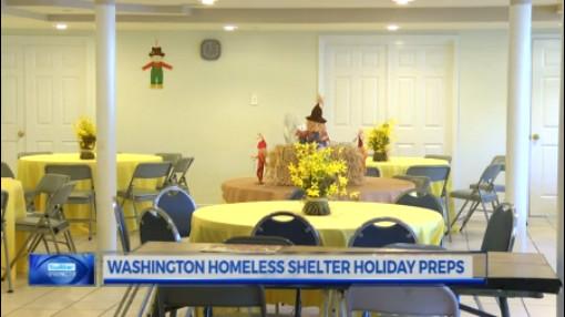 homeless shelter holiday preps_514477