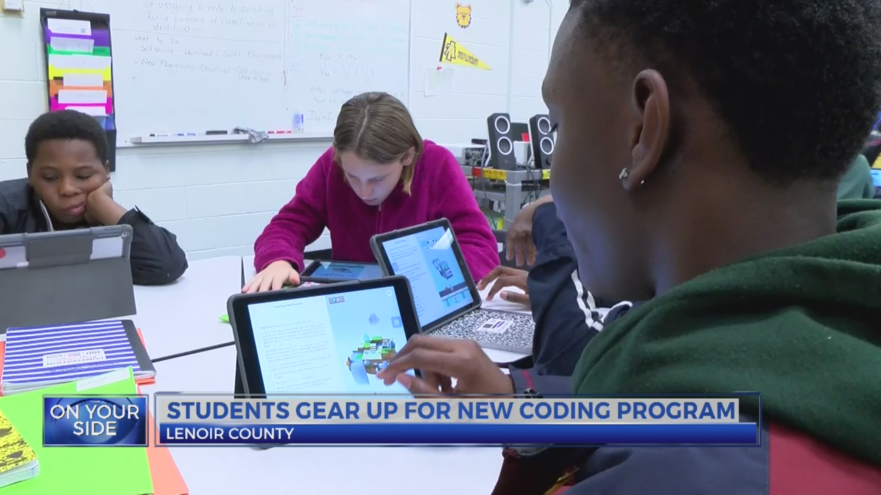Students gear up for new coding program