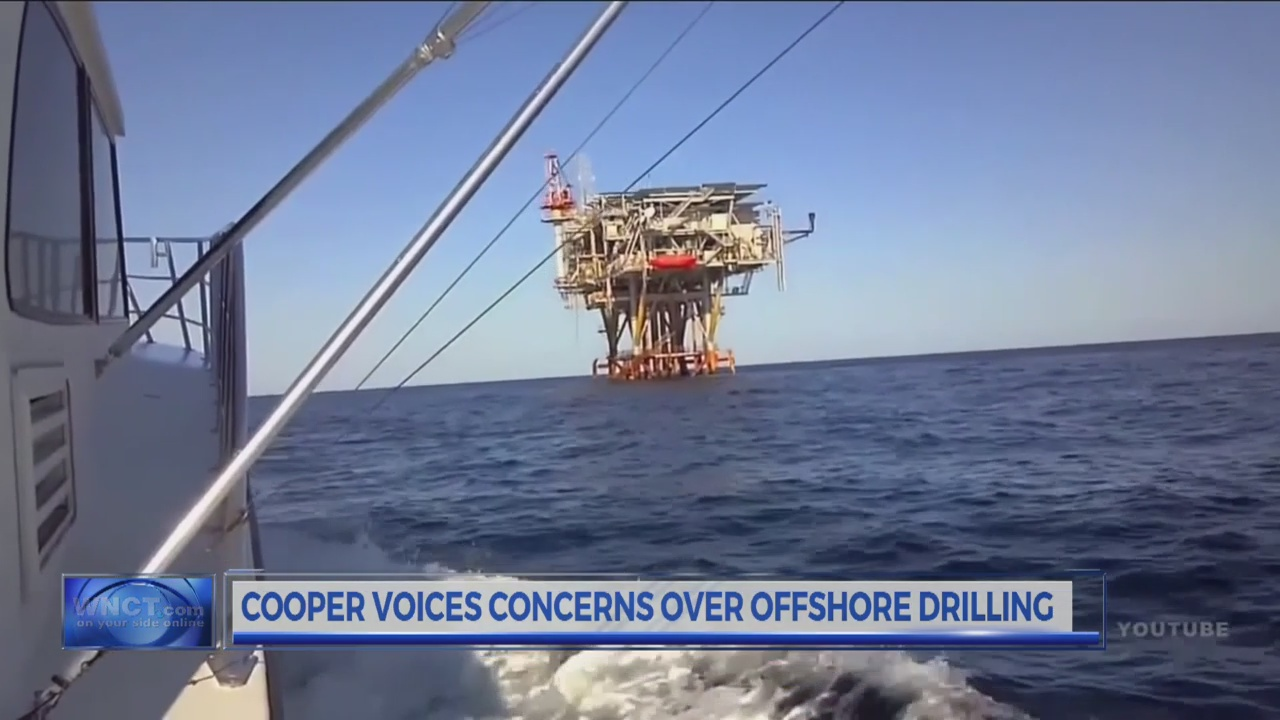 Cooper voices concerns over off-shore drilling