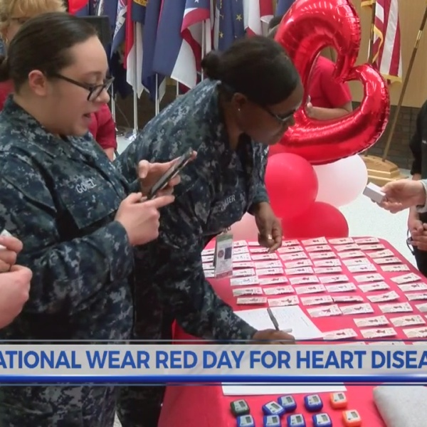 National Wear Red Day for heart disease