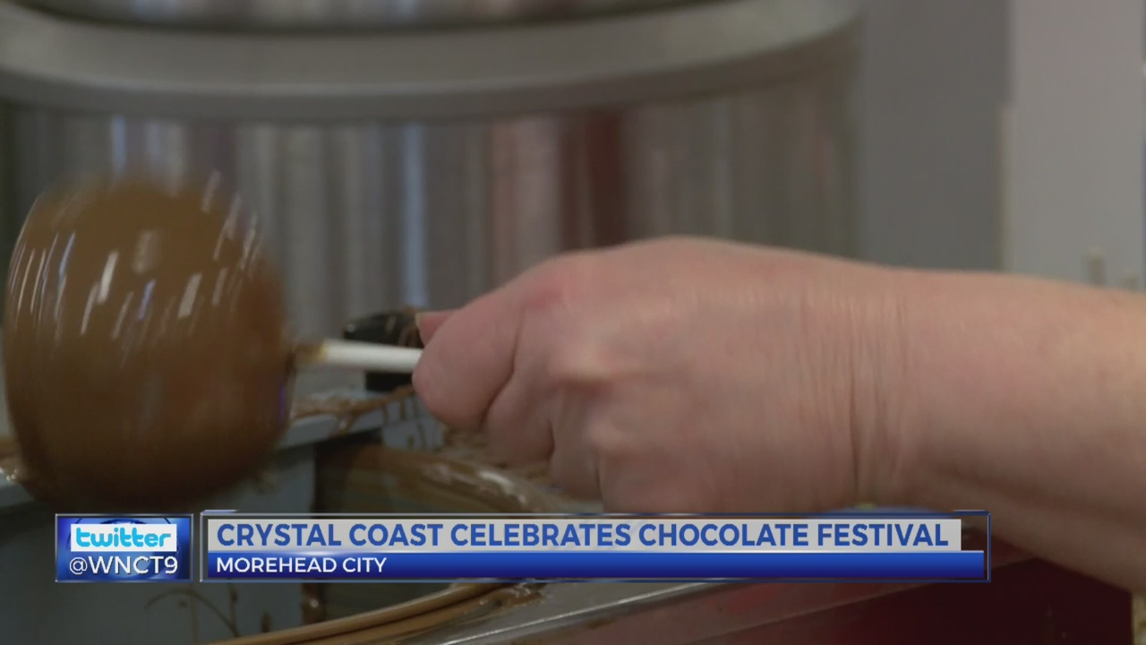 Carolina Chocolate Festival makes sweet landing on Crystal Coast