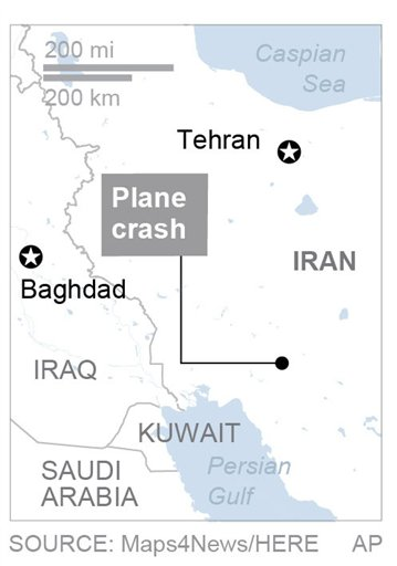 IRAN PLANE CRASH_567668
