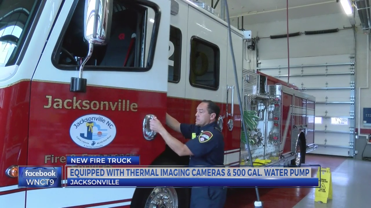 Jacksonville Fire and Emergency Services debuts new truck