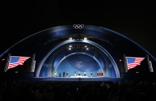 Pyeongchang Olympics Medals Ceremony Snowboard Women_564662