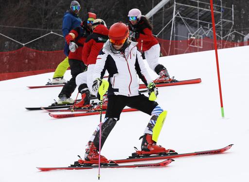 Pyeongchang Olympics Alpine Skiing_564890