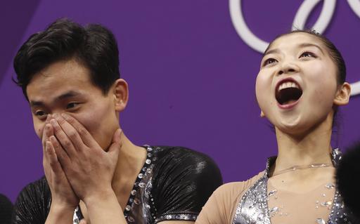 Pyeongchang Olympics Figure Skating Pairs_564680