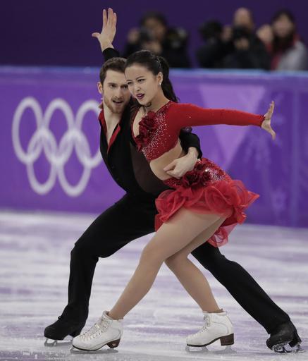 Pyeongchang Olympics Figure Skating Ice Dance_568016