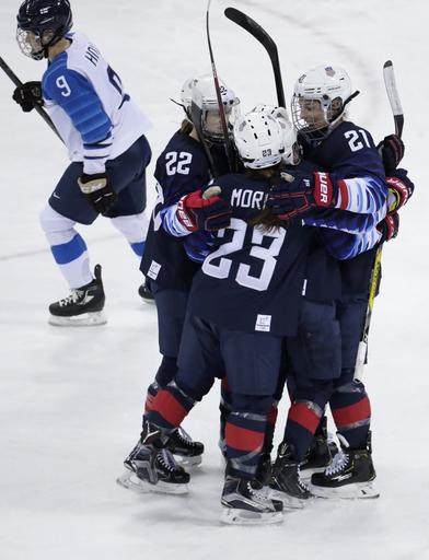 Pyeongchang Olympics Ice Hockey Women_568256