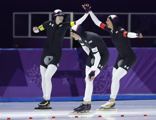 Pyeongchang Olympics Speed Skating Women_568230
